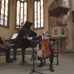 Cellist Leonid Gorokhov auf Ricci Carbon Cello