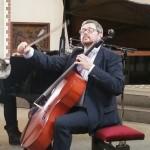 (Deutsch) Cellist Leonid Gorokhov