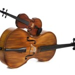 Ricci Violin - with big brother